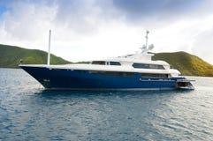lyxig yacht Royaltyfria Foton