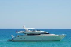 lyxig yacht 4 Arkivfoto