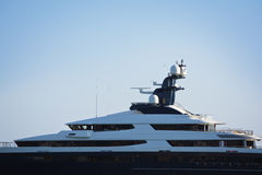 Lyxig yacht Royaltyfri Bild