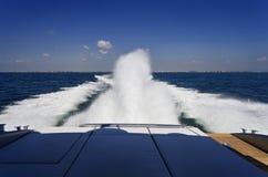 lyxig yacht för alfamarine 60 Arkivfoto