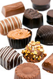 lyxiga choklader Arkivbilder