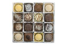 lyxiga choklader Royaltyfri Foto