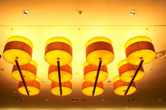 Lyxiga dekorativa lampor Royaltyfri Foto