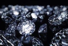 Lyxiga diamanter Arkivbilder