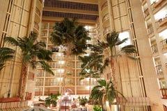Lyxiga hotellrum och golv Fotografering för Bildbyråer