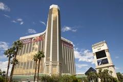 Lyxiga semesterorter för för Mandalay fjärdkasino och hotell i Las Vegas Fotografering för Bildbyråer