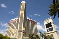 Lyxiga semesterorter för för Mandalay fjärdkasino och hotell i Las Vegas Arkivbilder
