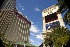 Lyxiga semesterorter för för Mandalay fjärdkasino och hotell i Las Vegas Royaltyfri Bild