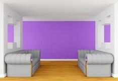 lyxiga sofas för galleri vektor illustrationer