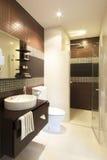 Lyxigt badrum Arkivbilder