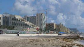Lyxigt hotell av Playa Delfines lager videofilmer