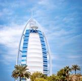 Lyxigt hotell i Dubai Arkivfoton