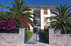 Lyxigt hotell i Majorca Arkivbild