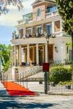 Lyxigt hotell i områdespincioen i rome Arkivfoto