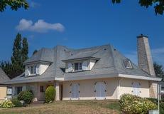 Lyxigt hus arkivfoto