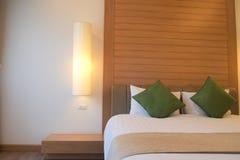 Lyxigt rum i hotell royaltyfria bilder