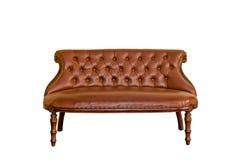 Lyxigt sofamöblemang för tappning Royaltyfri Fotografi