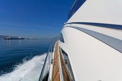 Lyxmotoryacht Royaltyfria Foton