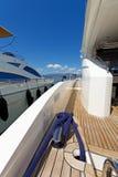 Lyxmotoryacht Royaltyfri Foto