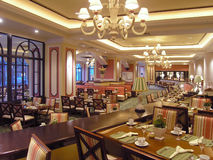 lyxrestaurang för 3 hotell Royaltyfri Fotografi