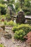 Lyxträdgård i Polen. Arkivfoto