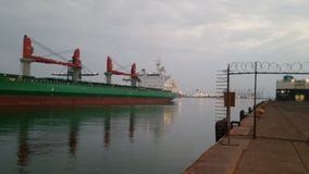 Lzc port royalty free stock photos