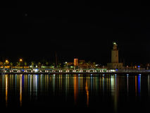 Màlaga-Hafen Stockfotos