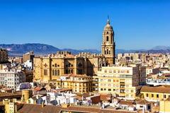 Màlaga-Kathedrale Lizenzfreie Stockfotos