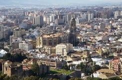 Màlaga. Spanien. Kathedrale Stockbilder