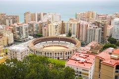Màlaga-Stierarena Lizenzfreies Stockfoto