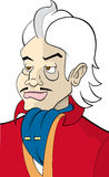 Máfia-indivíduo do personagem de banda desenhada Foto de Stock