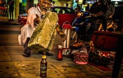 Mágica! É? Homem de medicina tradicional Foto de Stock