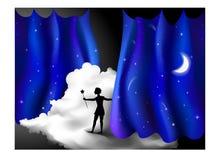 mágica ilustração do vetor