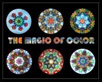 A mágica da cor Imagem de Stock Royalty Free