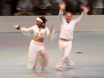 Mágica da dança Fotografia de Stock