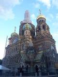 A mágica de St Petersburg foto de stock