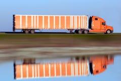 Mágica de transporte por caminhão Imagens de Stock