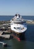 Mágica do navio de cruzeiros Foto de Stock Royalty Free