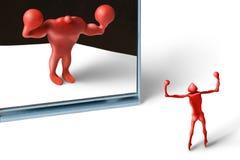 Mágica mirror-1 Imagens de Stock Royalty Free