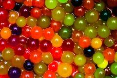 Mágica que cresce bolas coloridas da geleia Fotografia de Stock