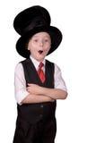 Mágico da criança fotografia de stock royalty free