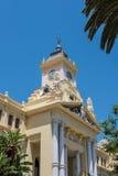 MÁLAGA, ANDALUCIA/SPAIN - 25 DE MAYO: Vista ayuntamiento en Mala Fotos de archivo