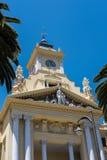 MÁLAGA, ANDALUCIA/SPAIN - 25 DE MAYO: Vista ayuntamiento en Mala Imagen de archivo libre de regalías