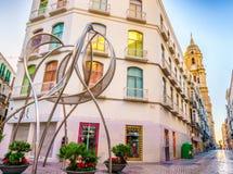 Málaga céntrica Imagen de archivo
