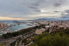 Málaga, España Imágenes de archivo libres de regalías
