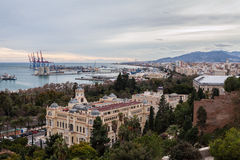 Málaga, España Imagen de archivo libre de regalías