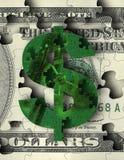 Máquina 2 do dinheiro ilustração royalty free