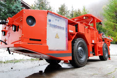 Máquina aborrecida da mina Fotos de Stock Royalty Free