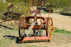 Máquina agricultural Fotografia de Stock Royalty Free