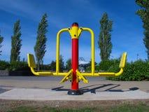 Máquina al aire libre del ejercicio Imagenes de archivo